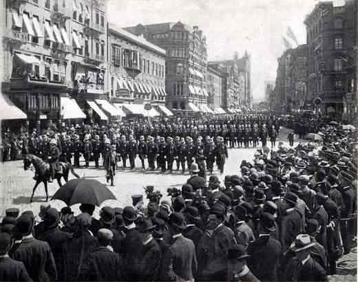 Police Parade 1899.