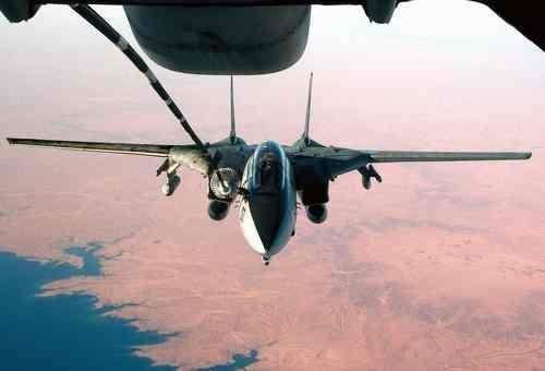 US Navy F-14D Tomcat Refueling
