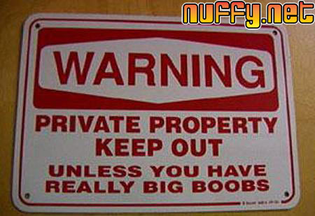 Funny signs | Nuffy