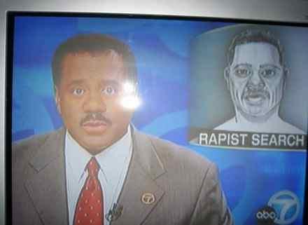 tv reporter, rapist, sketch, funny