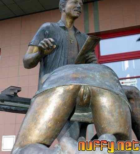 cool weird strange statue