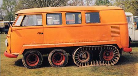 weird, strange, bizarre bus