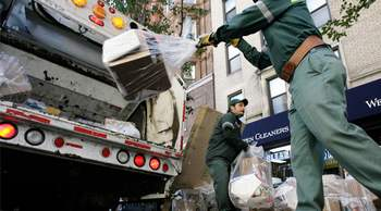 worst job - garbage collector