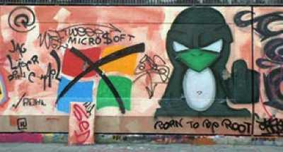 computer geek graffit