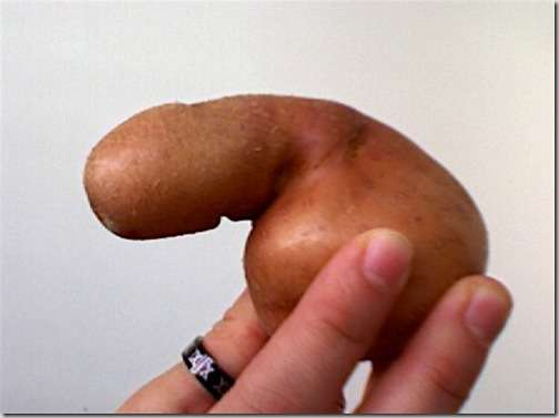 bizarrely shaped vegetable