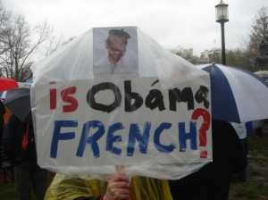funny stupid protester sign
