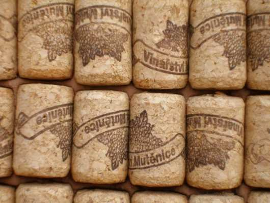house made of corks