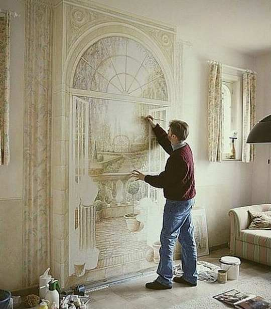 3d illusion art