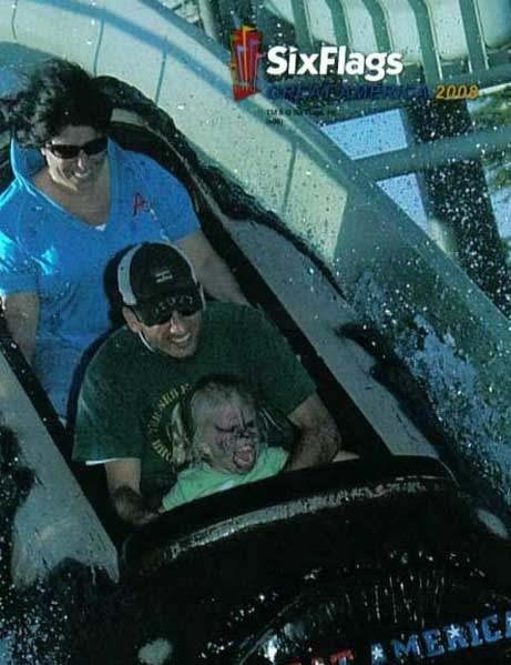 crazy funny roller coaster photo