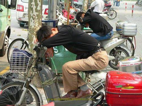chinese sleep anywhere