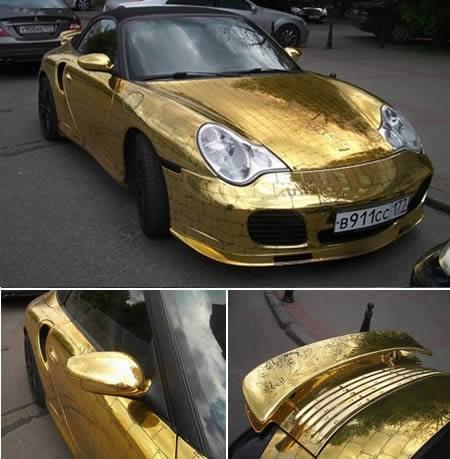 Golden Porsche