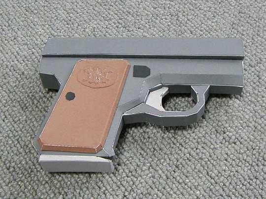 Paper Pistol