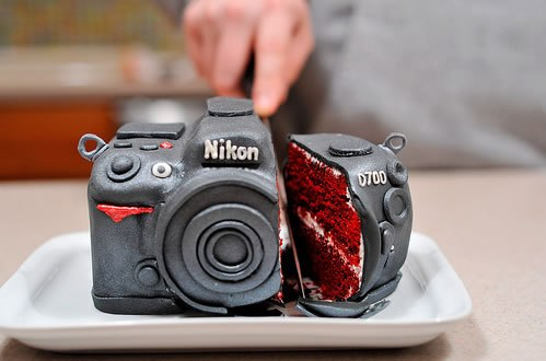 Bizzare Birthday Cake Nikon