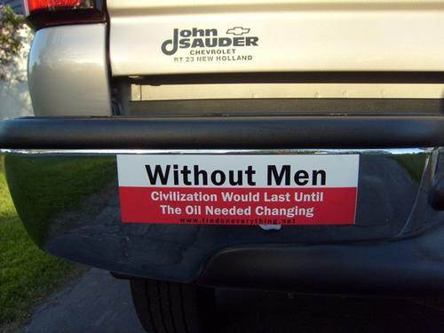 Funny Bumper Car Sticker