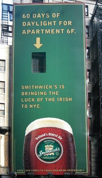 creative funny billboards beer