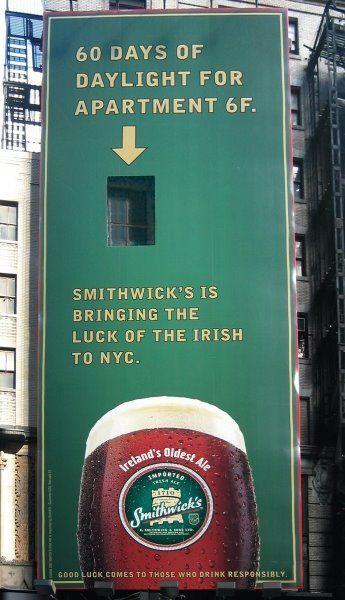 creative funny billboards beer