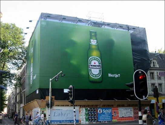 creative funny billboards heineken