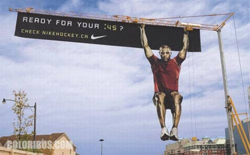 creative funny billboards nike