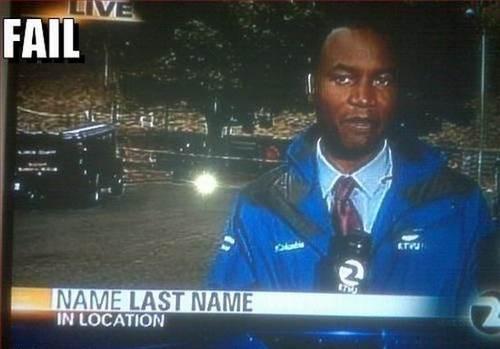 Funny Name Fails: TV News Epic Fails (23 Pics)