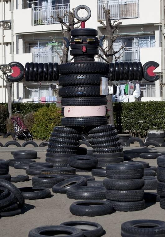park tire weird