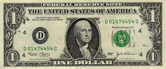 bald 1 dollar