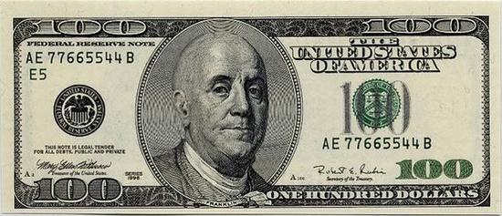 bald 100 dollar