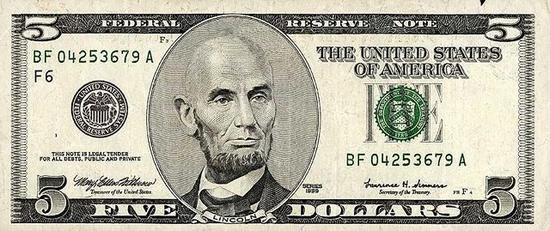 bald 5 dollar