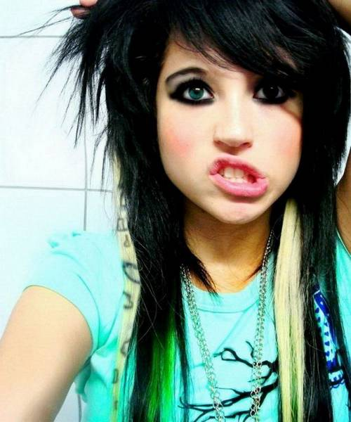 beautiful emo girl