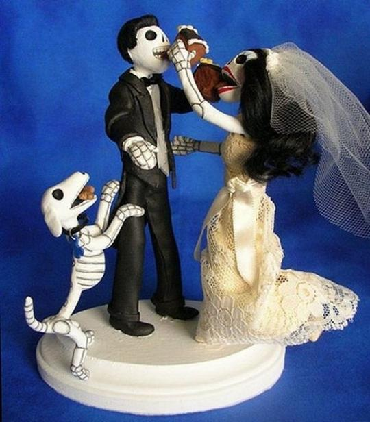 Funny Wedding Cakes Topper