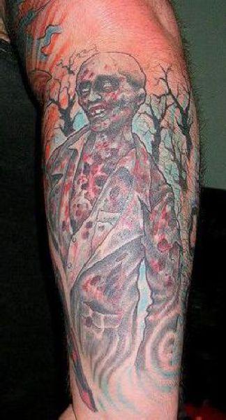 crazy video game tattoo