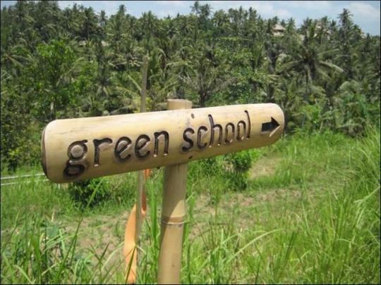 green schoool bali