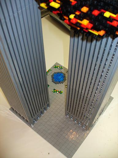 world trade center 9/11 lego