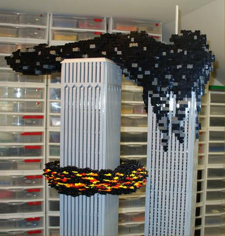 wtc lego recreation