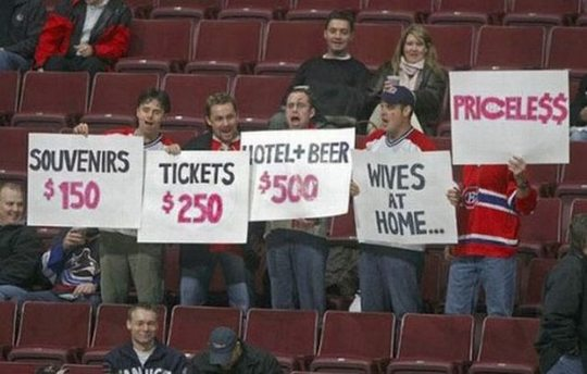 funny sport sign
